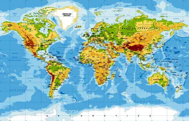 Realna Mapa Sveta Ne Lici Ni Na Sta Sto Ste Do Sada Videli Video