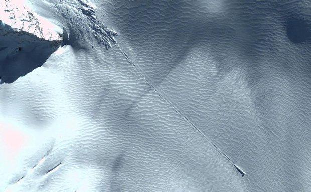 NLO pad na Antarktik ostavio  tragove uništenja – VIDEO