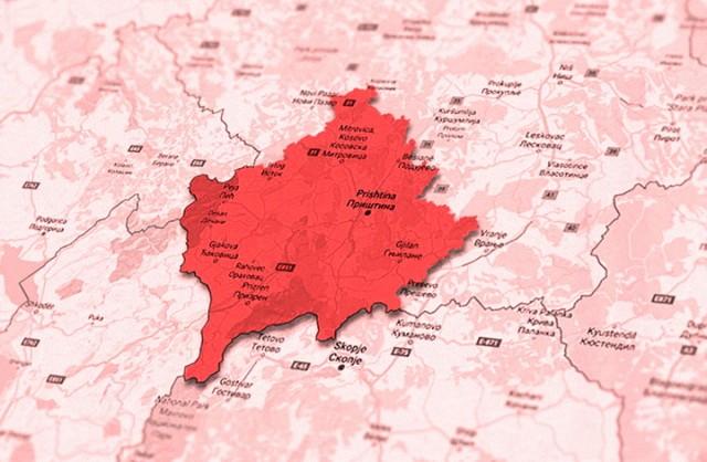 Kosovo-mapa 2