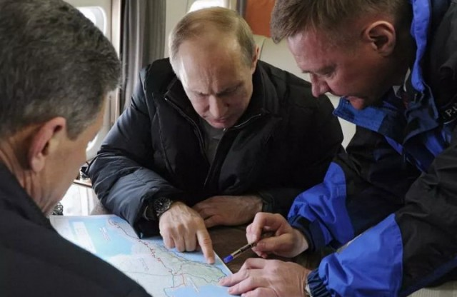 Putin-Mapa