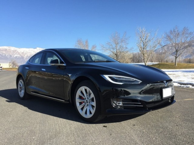 Tesla Model S P100D from Armormax automobil