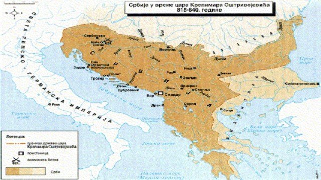 srbija mapa