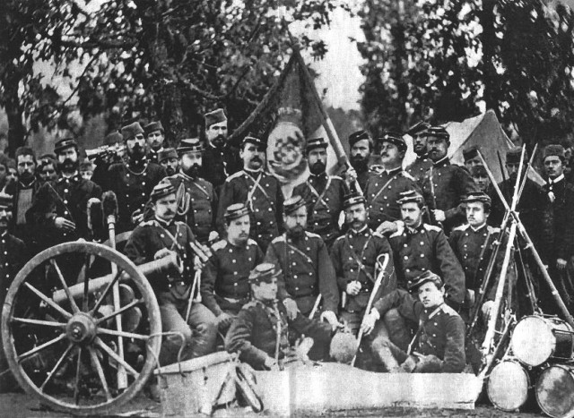 srbija vojska-prvi-srpsko-turski-rat-1876.-godine