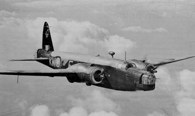 britanija avion bombarder