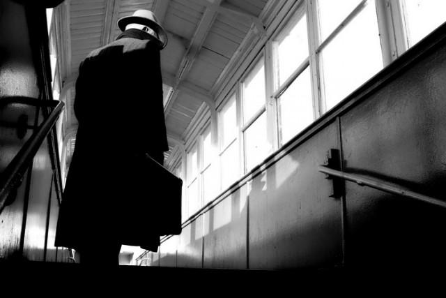Film Noir style man