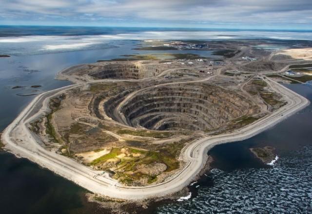 diavik kanada rudnik