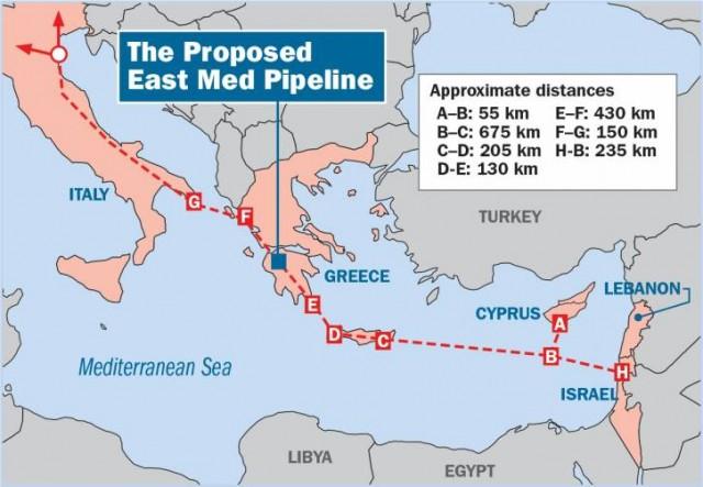 izrael gasovod