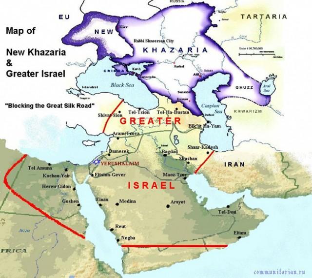 hazarija mapa karta
