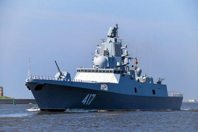 rusija brod gorskov