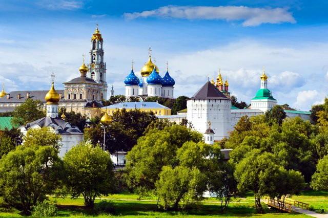 Manastir Trojice - Sergijeva lavra Rusija