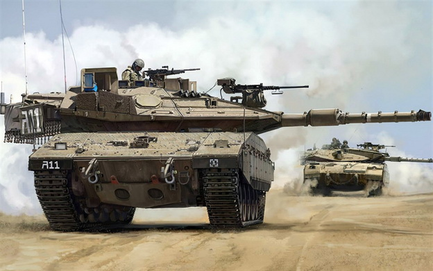 izrael tenk