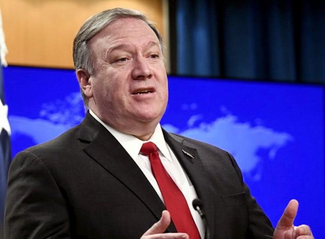 Pompeo: Izrael ima pravo da bombarduje Siriju