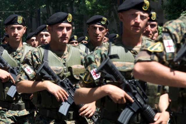 gruzija vojska