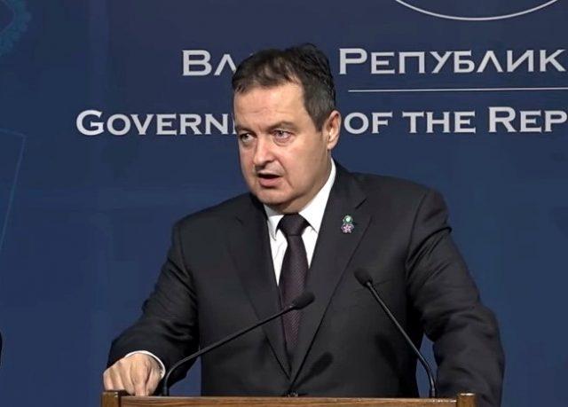 Dačić: Srbija će odgovoriti Crnoj Gori istom merom