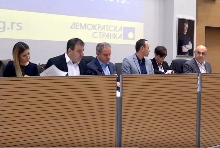 """DS o izjavi Kapetana Dragana: """"To nije moglo bez odobrenja Vučića"""""""