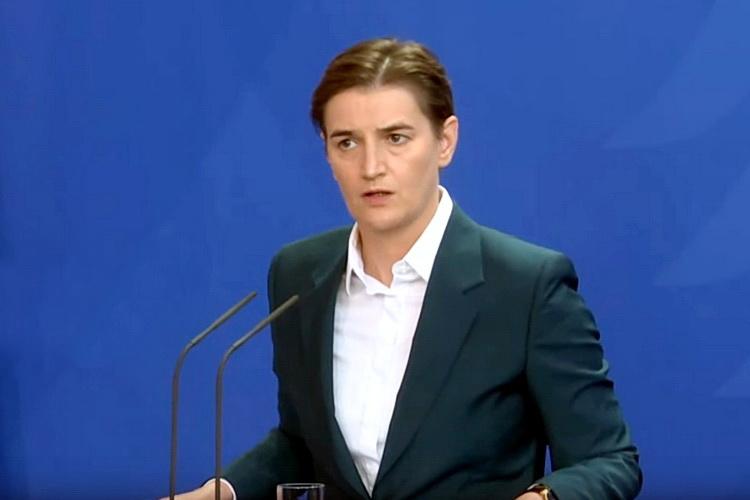Brnabić: Pobediće pristojni i radni građani Srbije