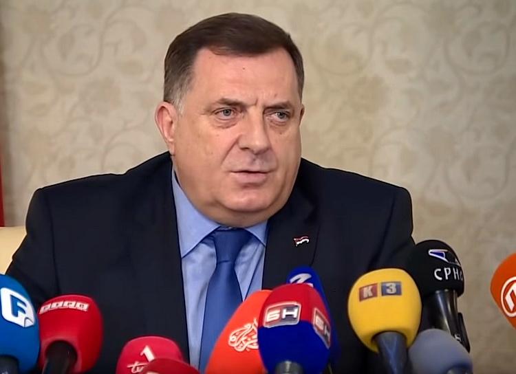 Dodik: BiH je potreban miran razlaz, čekamo da se raspadne
