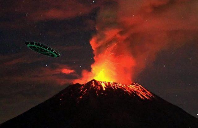 NLO OD 200 METARA: U ovom vulkanu je vanzemaljska baza – VIDEO