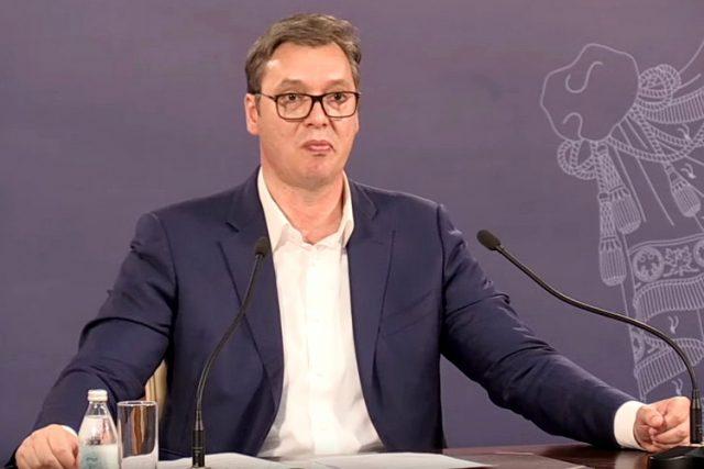 Vučić: Nemam koronavirus, to je meni od lekova za pritisak