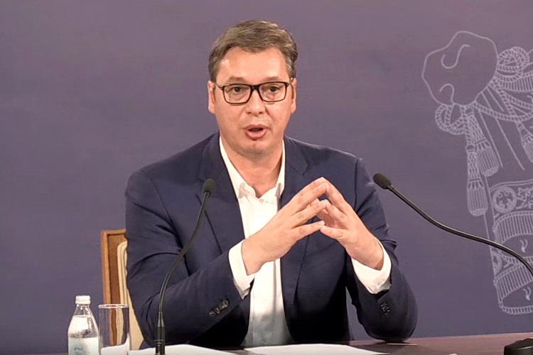 Nastavlja pregovore o teritoriji Srbije bez Vlade i Skupštine koji još nisu ni formirani?