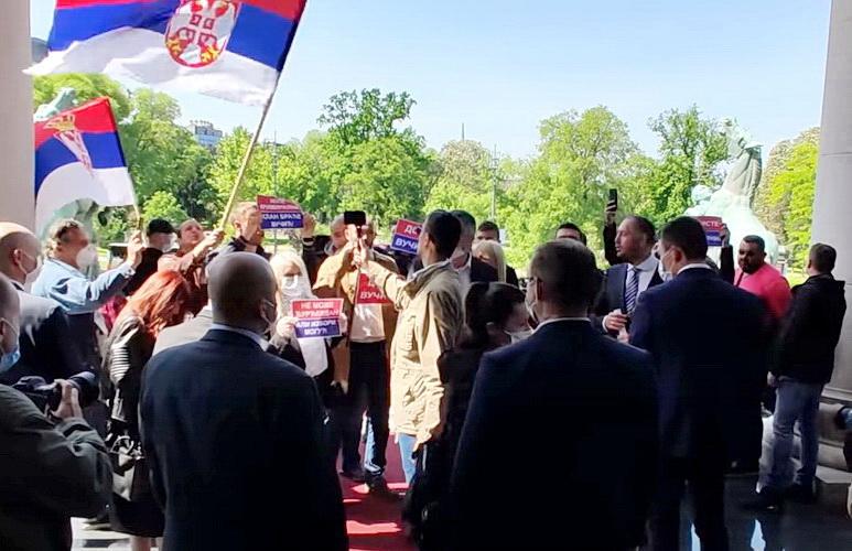 Panović: Ovi izbori su kampanja za neke buduće, opozicija da nađe svog Koštunicu