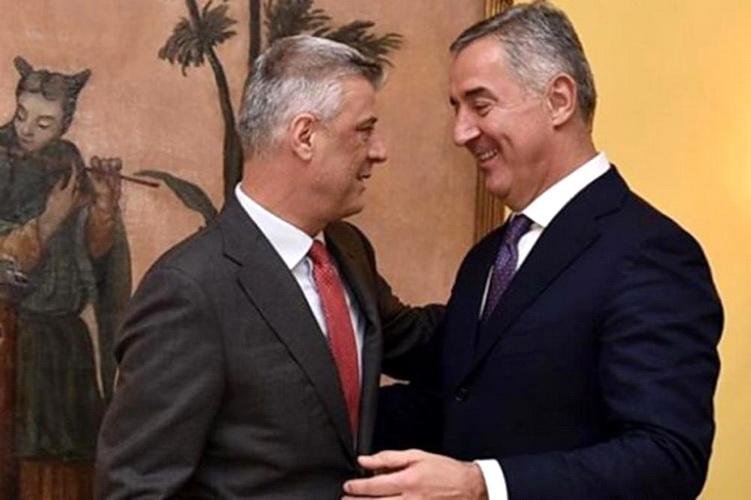 Milo Đukanović i Hašim Tači na istom zadatku: Spremaju optužbe protiv Srba za ratne zločine