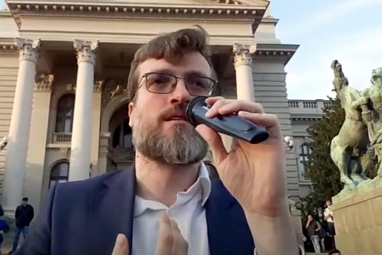 SRĐAN NOGO OPOZICIJI: Studenti dobili sve – Ako sada ne izađete na ulicu jasno je da RADITE ZA VUČIĆA – VIDEO