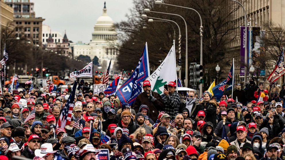 UDARNA VEST: Narod upao u Kongres, ne dozvoljavaju proglašenje Bajdena za predsednika SAD