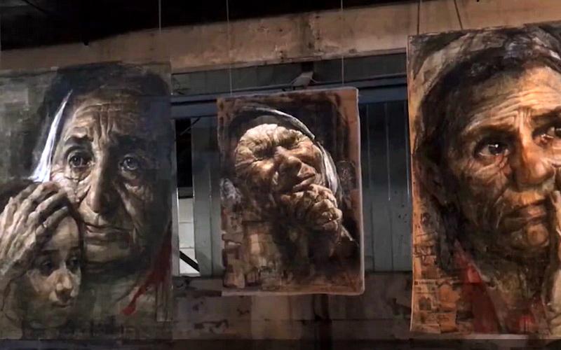 Ruganje Srbima i ponižavanje Srbije: Usred Beograda Bošnjaci prave izložbu o genocidu u Srebrenici