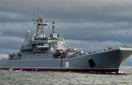 PRIBLIŽAVA SE OLUJA: Ruski ratni brod natovaren teškim teretom isporučio u Siriju nepoznato oružje